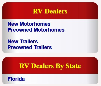 RV Dealer Menu